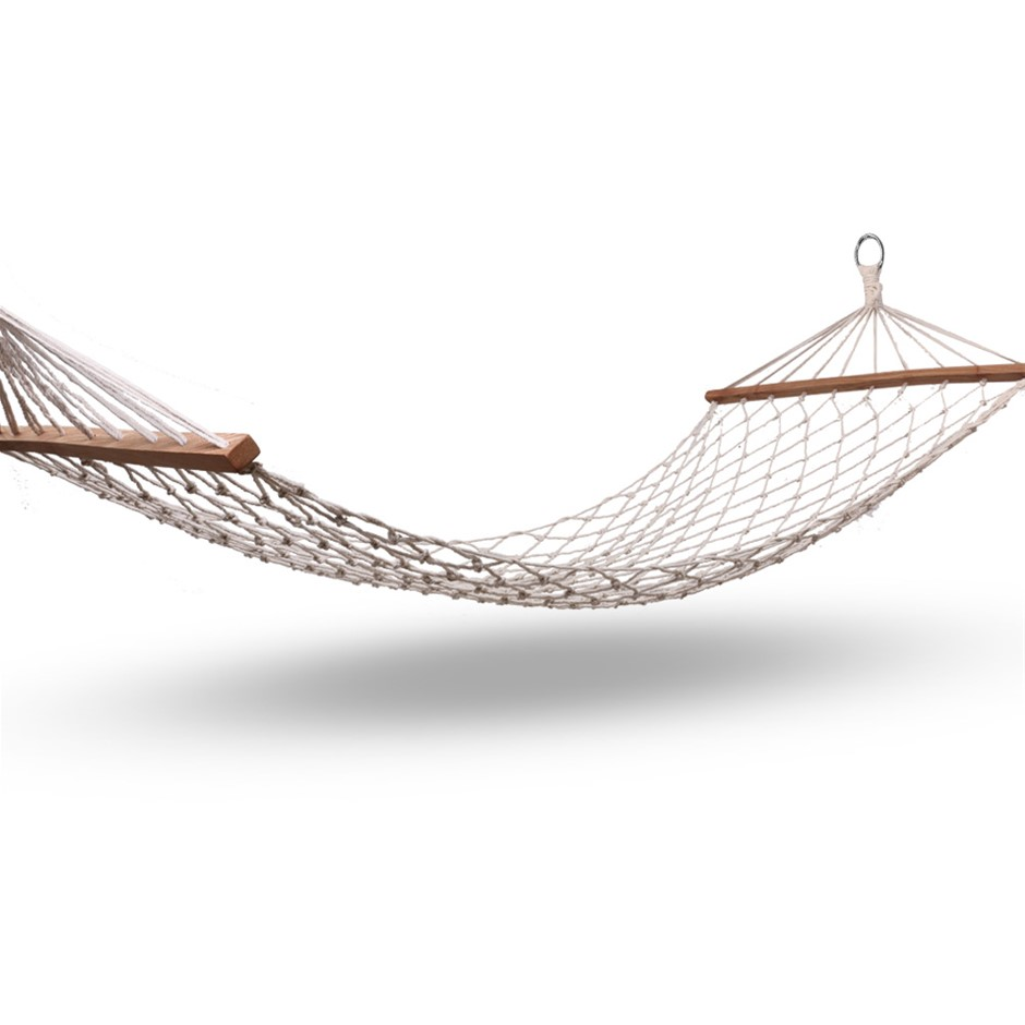Gardeon Hammock Swing Bed - Cream