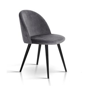 2 x Artiss Velvet Modern Dining Chair -
