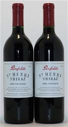 Penfolds `St Henri` Shiraz 1993 (2 x 750mL) 5 Star Prov