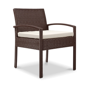 Gardeon Outdoor Rattan Chair - Brown