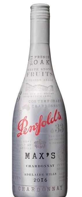 Penfolds Max's Chardonnay 2016 (6 x 750mL), Adelaide Hills, SA