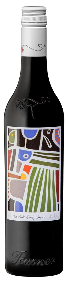Teusner The Wark Family Shiraz 2017 (6 x 750mL), Barossa. SA.