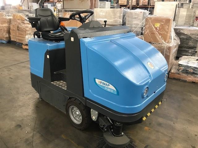 Fimap Model- FS80D Diesel Ride On Floor Sweeper