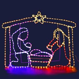 Jingle Jollys Motifs Lights - Nativity S
