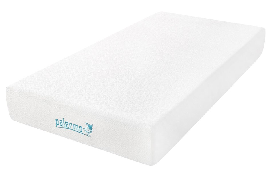 Palermo King Single 25cm Gel Memory Foam Mattress