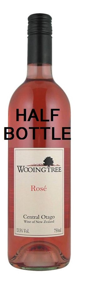 Wooing Tree Rose 2016 (12 x 375mL Half Bottle), Central Otago, NZ.