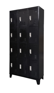 Twelve-Door Office Gym Shed Storage Lock