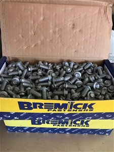 Box of 500 Pieces Unused Bremick Head Sc