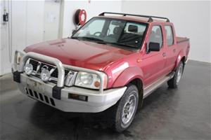 2003 Nissan Navara ST-R (4x4) D22 Turbo Diesel Dual Cab
