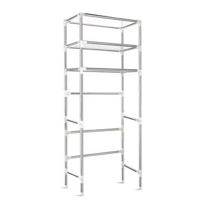 3 Tier Bathroom Storage Rack - Silver