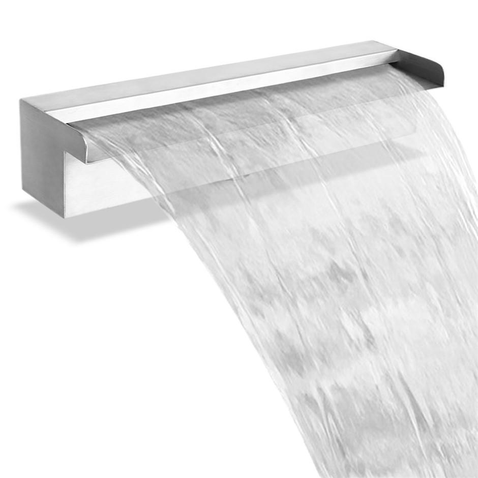 Gardeon Stainless Steel Waterfall Feature - 45CM
