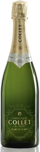 Collet Champagne Blanc de Blancs Brut NV (6 x 750mL), France.