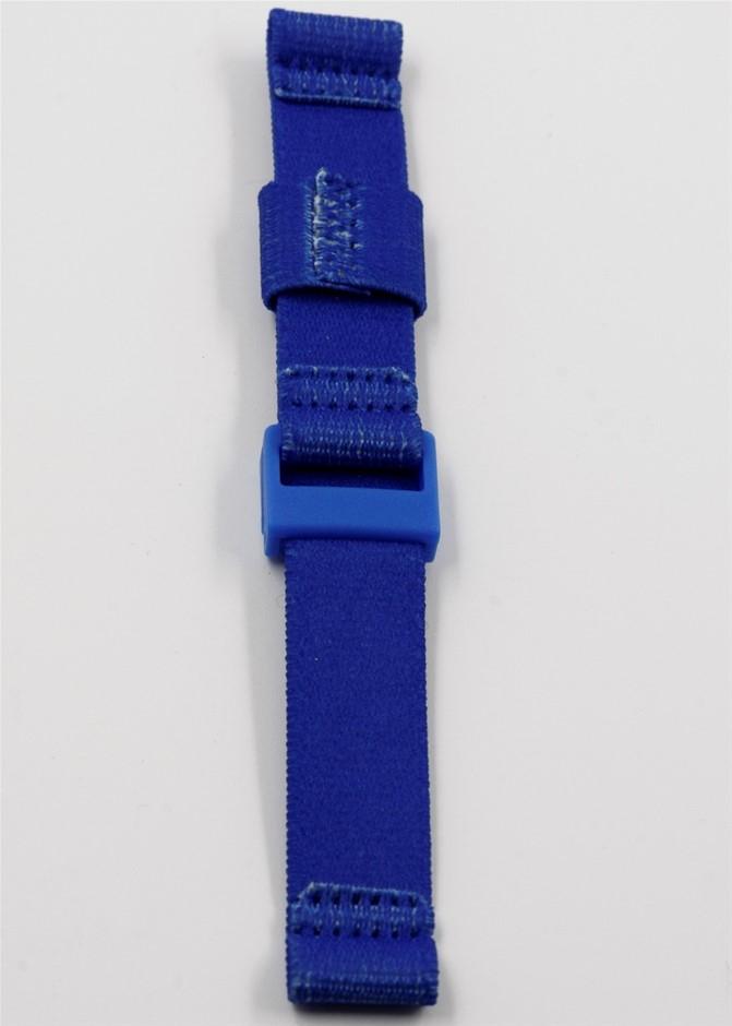 Blue Velcro Watchband