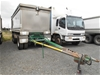 2010 Hercules HEDT-3 Super Dog Aluminium Tipping Trailer