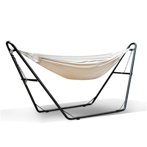 Gardeon Hammock Bed with Steel Frame Sta