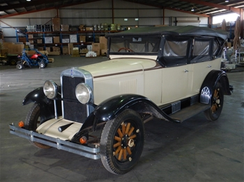 1929 Chevrolet RWD Manual Coupe