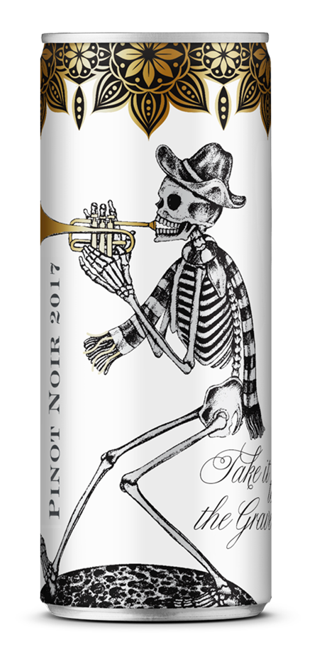 Take it to the Grave Pinot Noir 2017 (24 x 250mL Cans), Adelaide Hills, SA.
