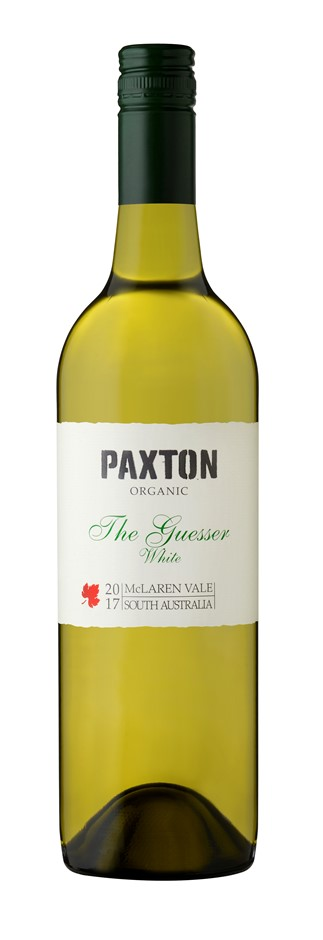 Paxton The Guesser White 2017 (12 x 750mL), McLaren Vale,SA.