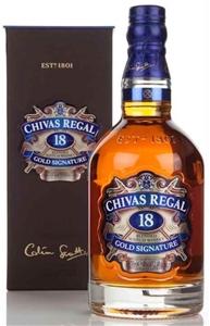 Chivas Regal 18YO Gold Siganture Blended