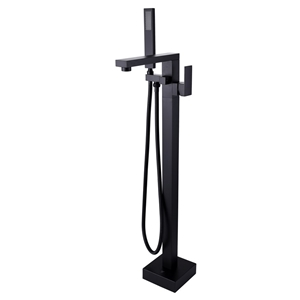 Square Black Floor Standing Mixer With D