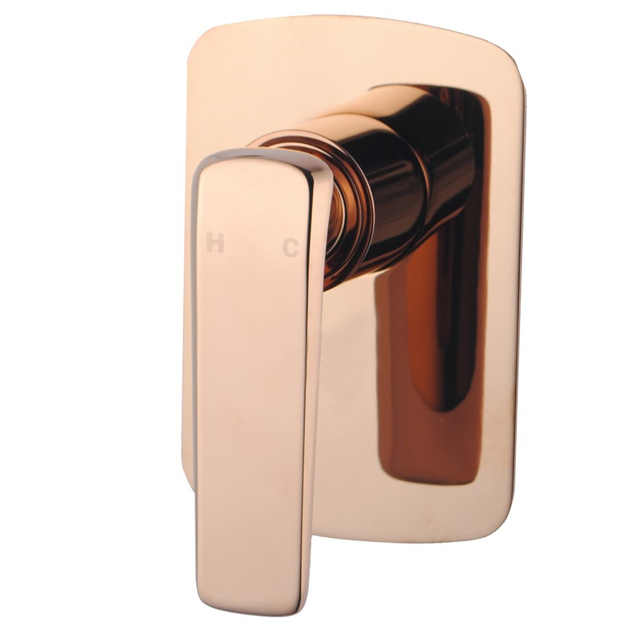 Eden Square Built-in Shower Wall Mixer Tap Watermark Rose Gold
