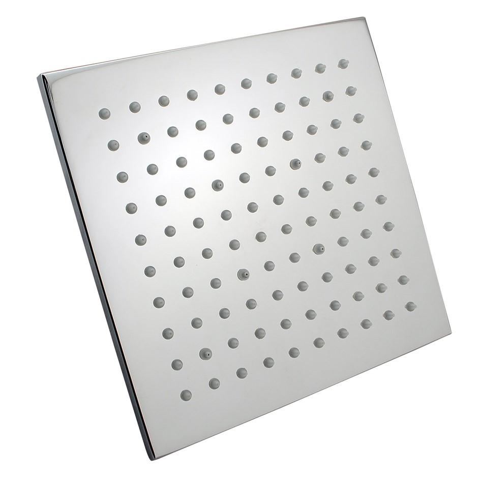 "8"" Square Chrome LED Rainfall Shower Head(Brass)"