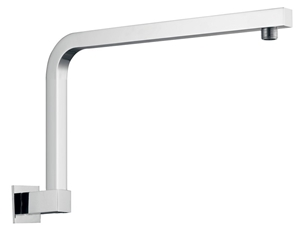 Square Chrome Wall Mounted Shower Arm(Br
