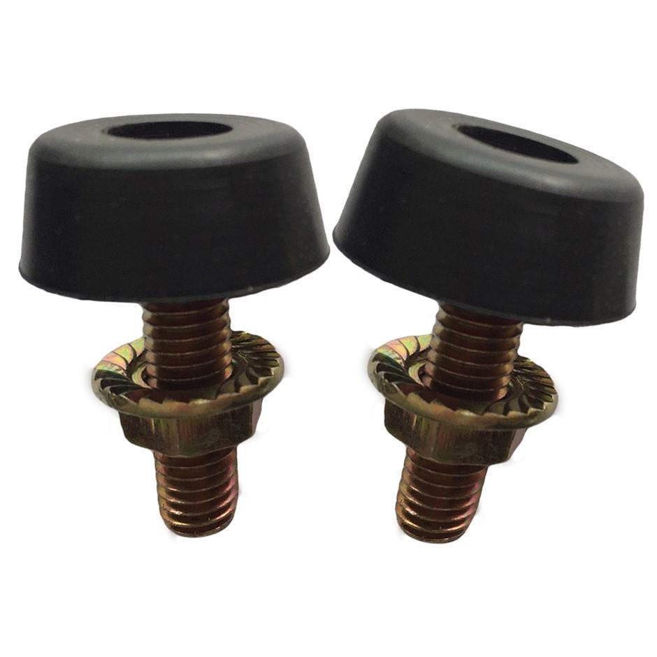 Rubber Bonnet Stop Set Bump Bumper Nut to Nissan Patrol GQ Maverick DA