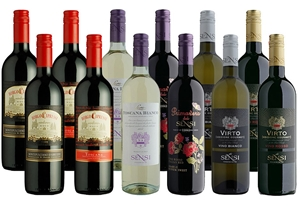 Italian Mixed Case (12 x 750mL) Italy