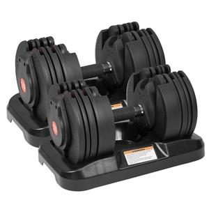 2x 20kg Powertrain Adjustable Home Gym D