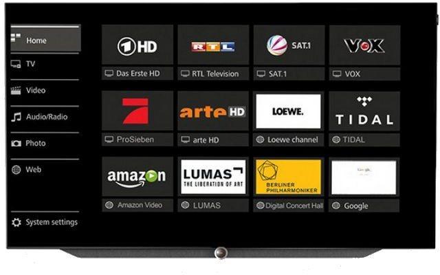 Loewe Bild 7.65 65-inch 4K UHD OLED TV (Graphite Grey) (56436D50)