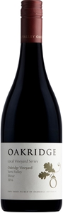 Oakridge LVS Oakridge Vineyard Shiraz 20