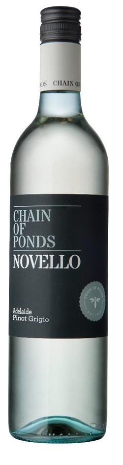 Chain of Ponds `Novello` Pinot Grigio 2018 (12 x 750mL), Adelaide, SA.