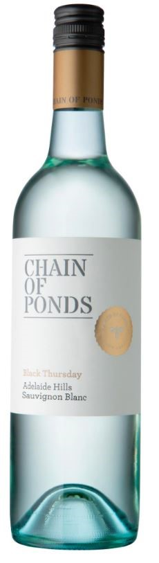 Chain of Ponds `Black Thursday` Sauvignon Blanc 2018 (12 x 750mL), SA.