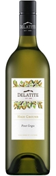 Delatite `High Ground` Pinot Grigio 2018 (12 x 750mL),VIC.
