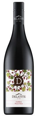 Delatite Pinot Noir 2016 (12 x 750mL), Yarra Valley, VIC.