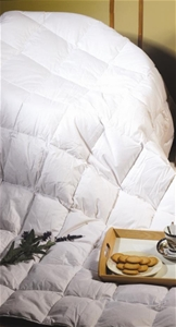 100% White Duck Feather Duvet / Doona Qu