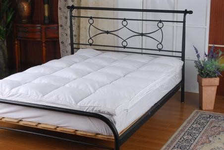 100% White Goose Feather Mattress Topper King Single
