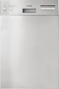 ILVE 45cm Stainless Steel Built-In Dishw