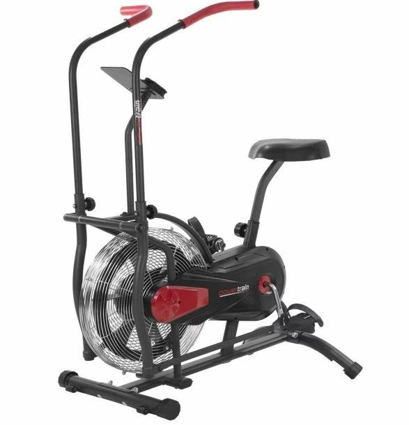 Powertrain Air Resistance Exercise Bike Spin Fan Equipment Cardio