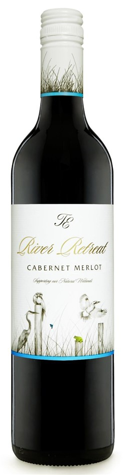 Trentham Estate `River Retreat` Cabernet Merlot 2015 (12 x 750mL), NSW.
