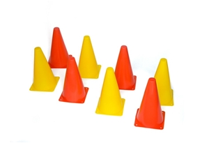230mm Training Cones Set Witches Hat Foo