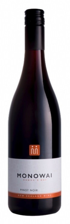 Monowai Winemaker's Selection Pinot Noir 2017 (12 x 750mL) Hawke's Bay, NZ
