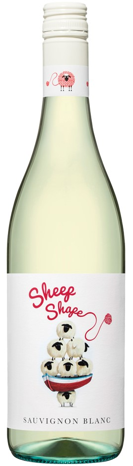 Sheep Shape Sauvignon Blanc 2018 (12 x 750mL), SE AUS.