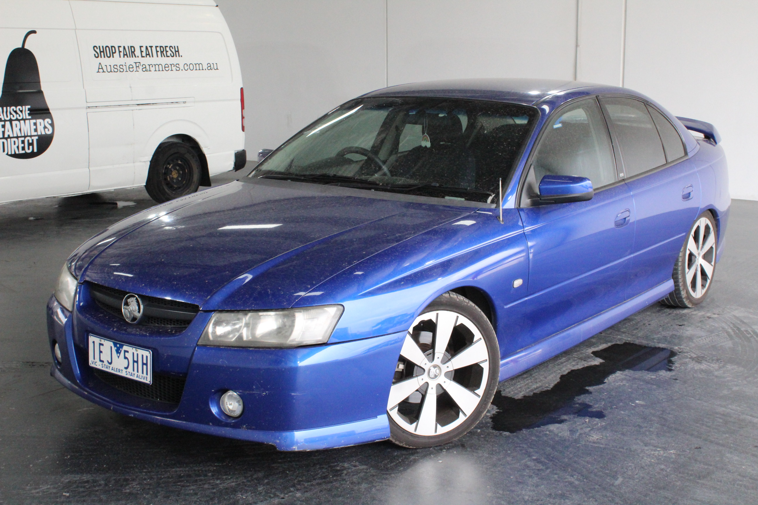 2005 Holden Commodore SV6 VZ Automatic Sedan Auction (0002