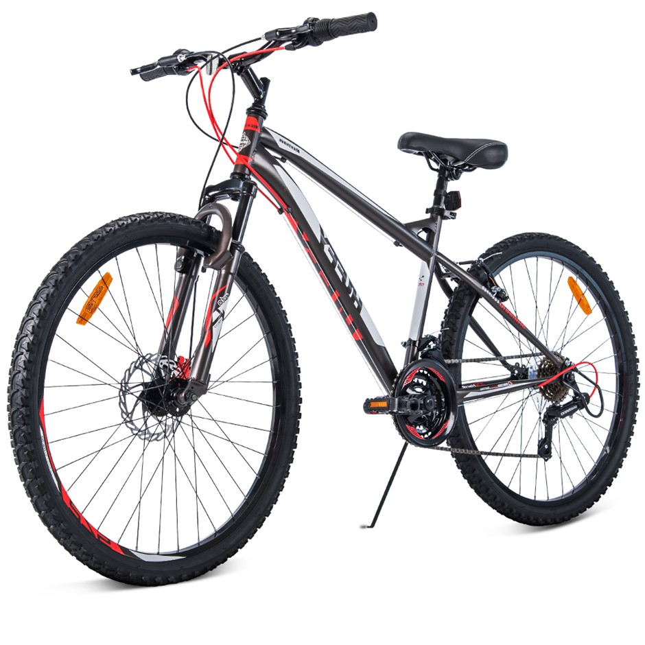 Huffy 27.5 Inch 70cm Mountain Bike Suspension Unisex Bicycle Shimano