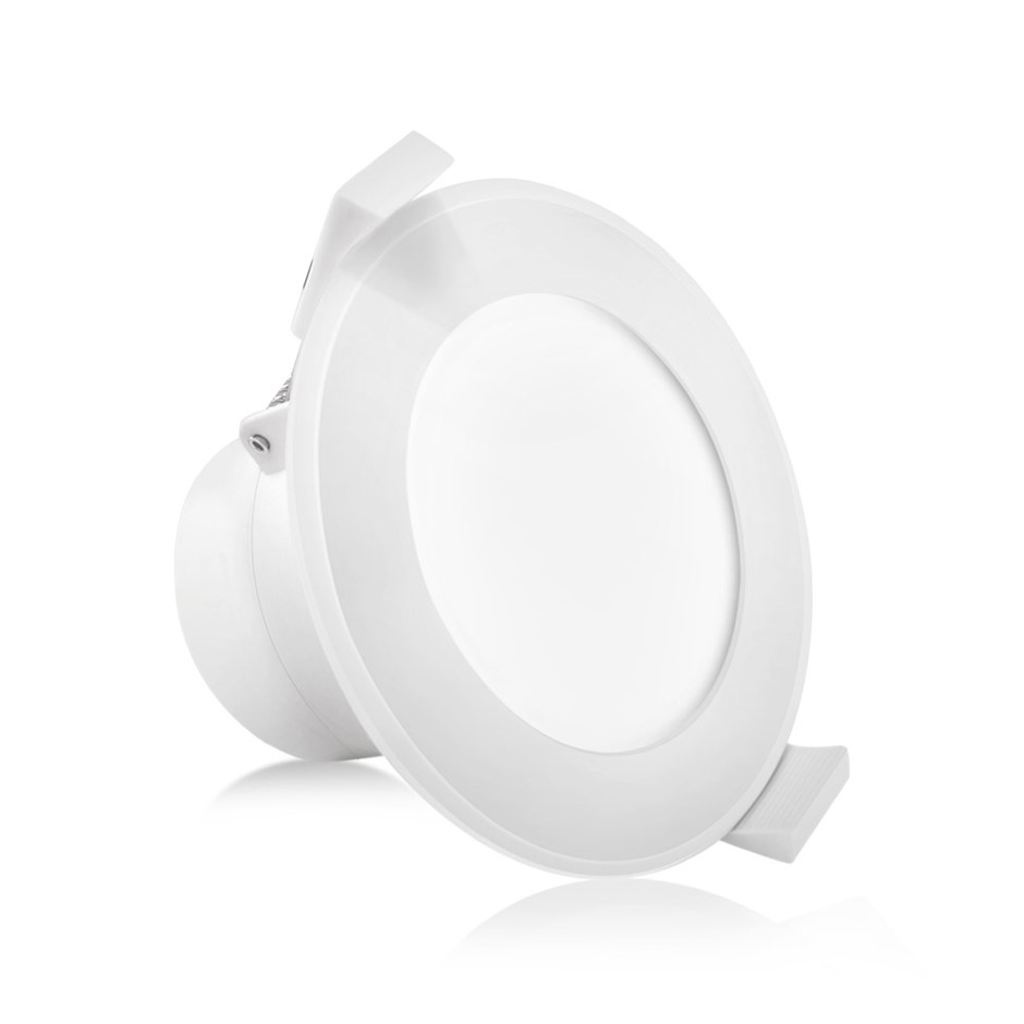 10 x LUMEY LED Downlight Kit Ceiling Light Bathroom Dimmable Warm White 10W