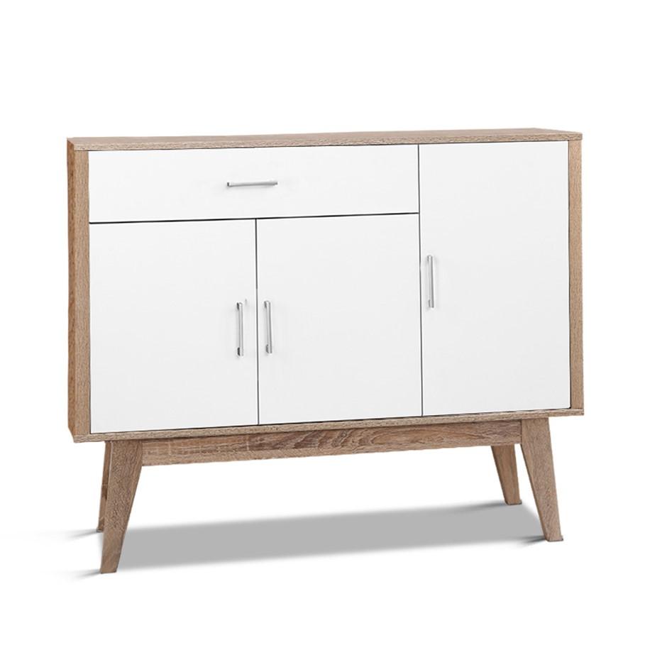 Artiss 26 Pairs Scandinavian Shoe Cabinet Storage Rack Organiser Shelf