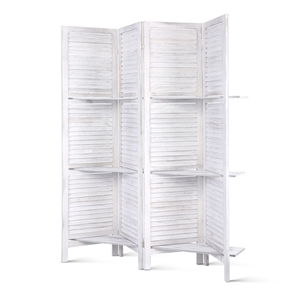 4 Panel Room Divider Screen Privacy Fold