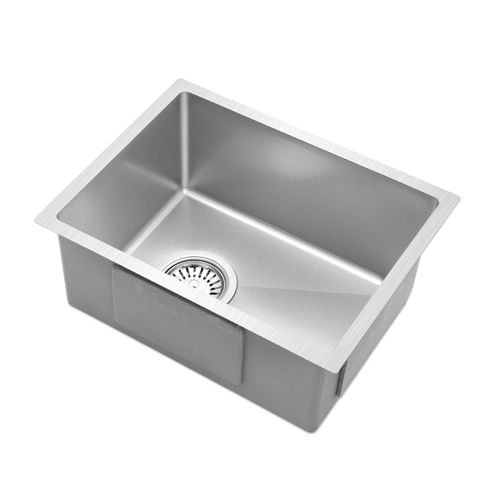Cefito 340x440mm Nano Stainless Steel Sink Handmade Top/Undermount Bowl